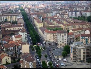 Veduta aerea del 5o Quartiere IACP. Fotografia di Michele D'Ottavio, 2011. © MuseoTorino