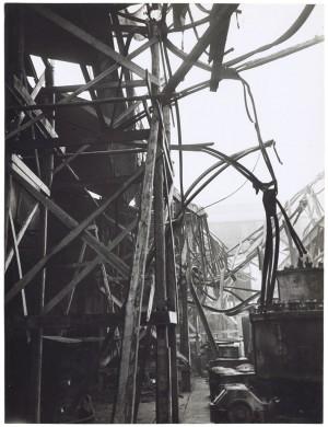 Corso Mortara 7. FIAT - Sezione Ferriere Piemontesi. Effetti prodotti dal bombardamento dell'incursione aerea del 20-21 novembre 1942. UPA 2065_9B05-39. © Archivio Storico della Città di Torino