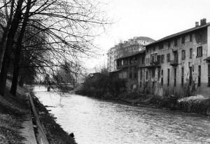 Fiume Dora Riparia e ex Durio, 1980 circa © Archivio Storico Città Torino (FT 13A01_001)