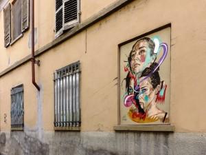 Max Petrone, The soul alive puppet, 2017, via Locana 21, MAU Museo Arte Urbana. Fotografia di Roberto Cortese, 2017 © Archivio Storico della Città di Torino