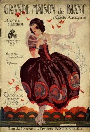 Magasin Grand Maison du blanc, catalogo 1922, Fondo Elisa Ricci. Biblioteca civica Centrale © Biblioteche civiche torinesi