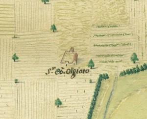 Cascina Gioia. Carta Tipografica della Campagna, 1685. © Archivio Storico della Città di Torino