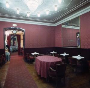 Caffè Fiorio, sala del Whist, 2001 © Regione Piemonte