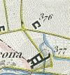 Cascina Cravetta. Antonio Rabbini , Topografia della Città e Territorio di Torino, 1840. © Archivio Storico della Città di Torino