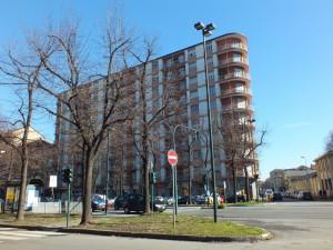 Edificio residenziale in corso Lecce 20, sull'area della fabbrica Streglio