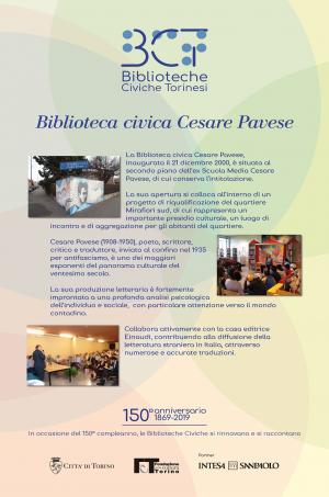 1869-2019. Biblioteca civica Cesare Pavese