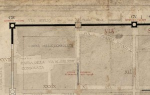 Postierla di età romana in via delle Orfane