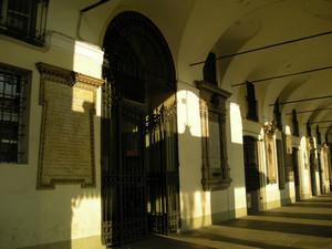 Lapide dedicata a Luigi des Ambrois di Nevache