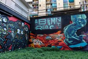 Truly Design, ENCS, TOTS crew, ADC crew, Galo, murales senza titolo, 2015/2018, giardinetti di via Fattori