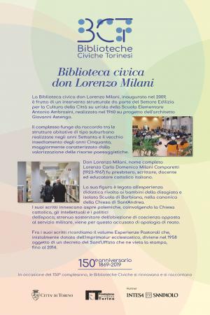 1869-2019. Biblioteca civica don Lorenzo Milani