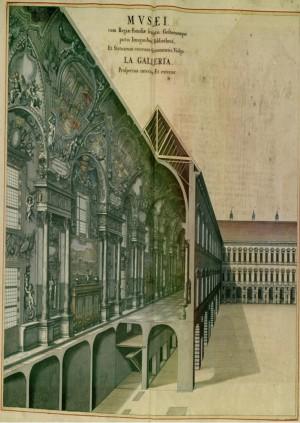 Grande Galleria di Carlo Emanuele I, Piazza Castello