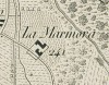 Cascina Lamarmora. Antonio Rabbini , Carta Topografica dei Contorni di Torino, 1878. © Archivio Storico della Città di Torino