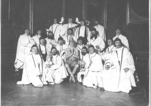 Circolo degli Artisti, Cavalieri del Gran Bogo, 1934 © Circolo degli Artisti di Torino