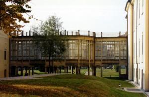 Ex Ospedale Militare Riberi. Parte nord, struttura di collegamento.