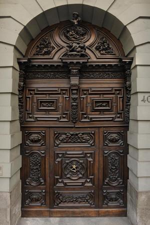 Palazzo Trucchi di Levaldigi (portone d'ingresso). Fotografia Studio fotografico Gonella, 2011. © MuseoTorino.