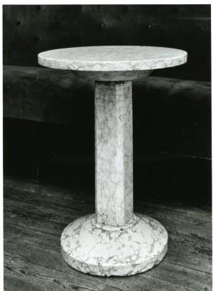 Caffè Fiorio, tavolino, 2001 © Regione Piemonte