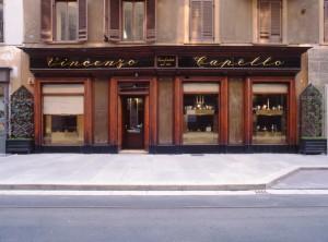 Capello, gioielleria, esterno, Fotografia di Marco Corongi, 2005 ©Politecnico di Torino