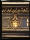 Gioielleria Musy, Devanture, stemma (part.), 1998 © Regione Piemonte