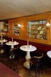 Al Bicerin, Caffè Confetteria, interno, Fotografia di Marco Corongi, 2001 ©Politecnico di Torino