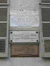 Lapidi dedicate ad Alessandro Ferrero de La Marmora. Fotografia di Elena Francisetti, 2010. © MuseoTorino