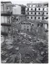 Via Saluzzo (già Via Lucio Bazzani 31). Effetti prodotti dai bombardamenti dell'incursione aerea dell'8-9 dicembre 1942. UPA 2736_9C05-51. © Archivio Storico della Città di Torino