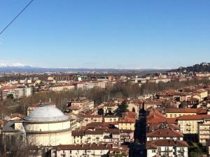 Panorama dal Monte dei Cappuccini. Fotografia di Laura Tori, 2016