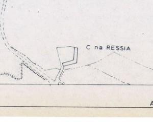 Cascina Ressia.Istituto Geografico Militare, Pianta di Torino, 1974, © Archivio Storico della Città di Torino