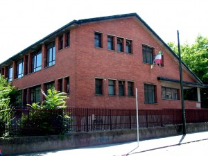 Scuola Media Costantino Nigra. Fotografia di Paola Boccalatte, 2013. Fotografia di Paola Boccalatte, 2013. © MuseoTorino