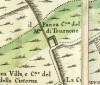 Cascina Pansa. Amedeo Grossi, Carta Corografica dimostrativa del territorio della Città di Torino, 1791. © Archivio Storico della Città di Torino