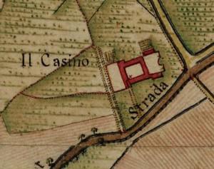 Cascina Barolo. Carta Topografica della Caccia, 1760-1766 circa. © Archivio di Stato di Torino