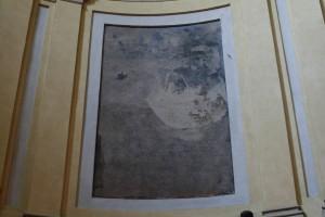 Luigi Vacca (1778-1884) (?), Salita al Calvario (?), post 1817, affresco nel coro della chiesa di Santa Croce. Fotografia di Francesca Romana Gaja, 2011-2012