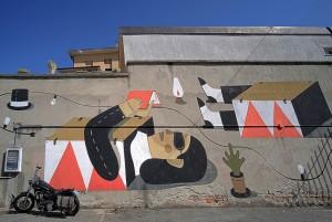 Agostino Iacurci, AbitHoudini, 2012, via Lugaro