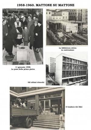 1958-1960. Costruzione della nuova Biblioteca civica