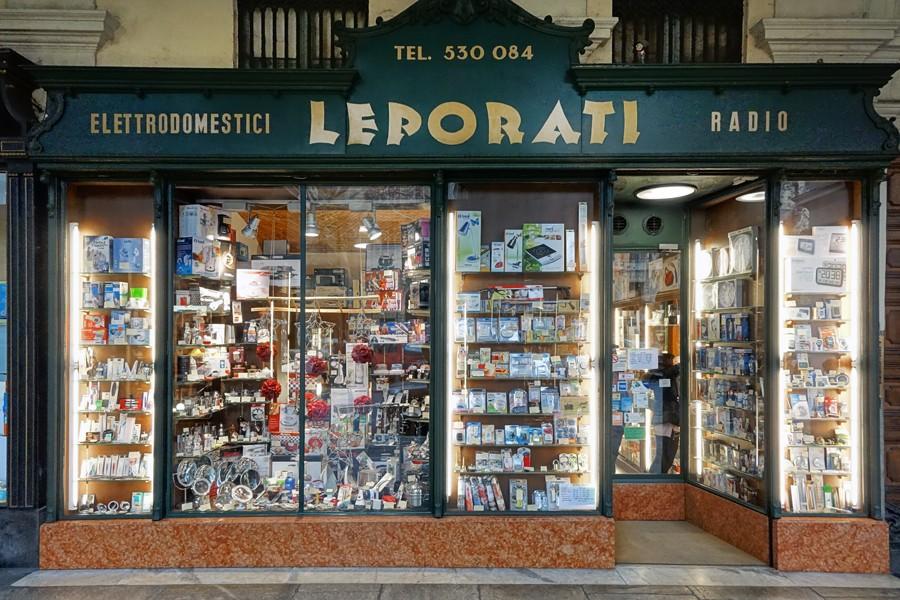 Leporati Elettrodomestici Radio-TV - MuseoTorino