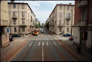 Veduta del 13° Quartiere IACP. Fotografia di Michele D'Ottavio, 2011. © MuseoTorino