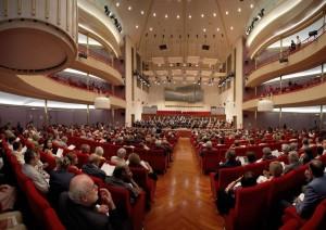 Sala dell' Auditorium RAI Arturo Toscanini. Fotografia di Mattia Boero, 2009. © MITO SettembreMusica