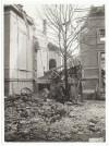 Corso Filippo Turati, Ospedale Mauriziano Umberto 1°. Effetti prodotti dai bombardamenti dell'incursione aerea del 28-29 Novembre 1942. UPA 2226_9C01-10. © Archivio Storico della Città di Torino