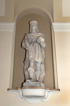 Regia Farmacia Masino, statua di s. Cosma, 2016 © Archivio Storico della Città di Torino