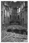Via del Carmine 3, Chiesa Madonna del Carmine. Effetti prodotti dai bombardamenti dell'incursione aerea dell'8 agosto 1943. UPA 3817_9E02-28. © Archivio Storico della Città di Torino/Archivio Storico della Città di Torino