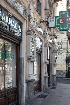 Farmacia Chimica del Corso, esterno, 2017 © Archivio Storico della Città di Torino