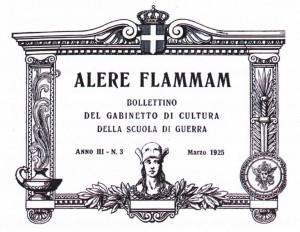"""Bollettino """"Alere Flammam"""", 1925."""