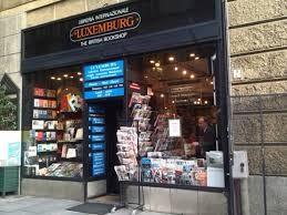 Libreria Internazionale Luxemburg, già Libreria Casanova, esterno, © Libreria Internazionale Luxemburg