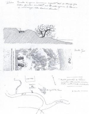 Due tombe romane al Parco della Colletta