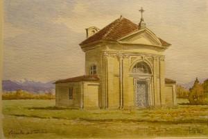 Alfredo Negro, Cappella del Tarino, 2002, acquerello