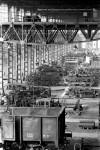 OGR. Locali del Montaggio locomotive utilizzati come deposito prima della chiusura delle Officine, anni '80. Fotografia Pier Paolo Viola. © Museo Ferroviario Piemontese per MuseoTorino