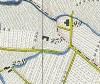 Cascinotto di strada del cascinotto. Antonio Rabbini, Topografia della Città e Territorio di Torino, 1840, © Archivio Storico della Città di Torino