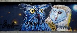 CeneRe, murale senza titolo, 2018, cavalcavia di corso Bramante. Fotografia di Roberto Cortese, 2018 © Archivio Storico della Città di Torino