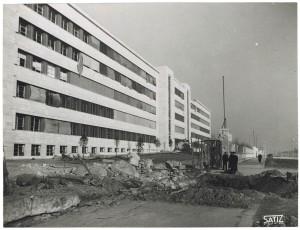 FIAT Autocentro - Stabilimento di Mirafiori. Effetti prodotti dal bombardamento dell'incursione aerea del 20-21 novembre 1942. UPA 2202_9B06-03. © Archivio Storico della Città di Torino
