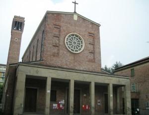 Chiesa dell'Assunta Via Nizza 355. Fotografia di Daniele Trivella, 2013