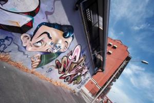 Artisti vari, murale senza titolo, 2012, via Sapeto